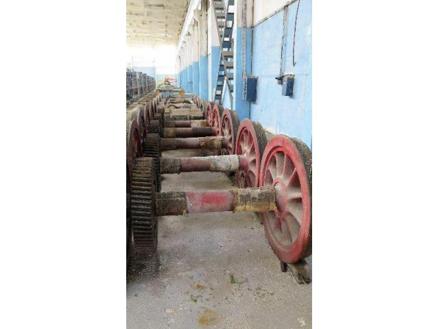 Spare parts freight cars UIC